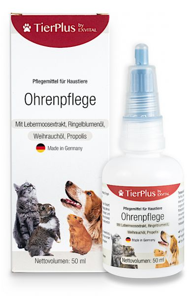 Ohrenpflege für Hunde, Katzen & Kleintiere