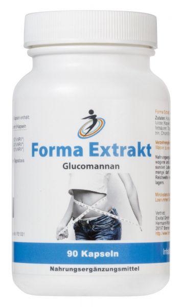 Forma Extrakt Glucomannan von EXVital, 90 Kapseln