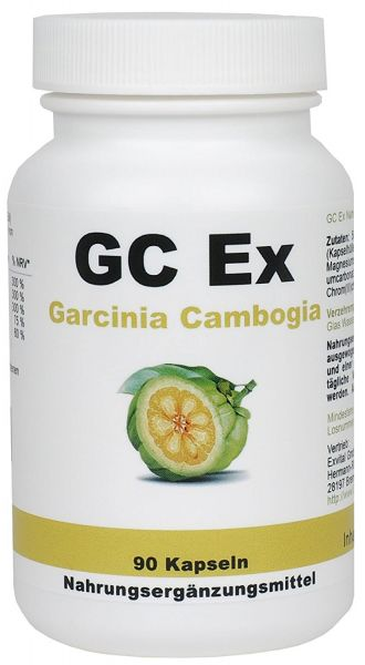 GC Ex Garcinia Cambogia Extrakt hochdosiert von EXVital, 90 Kapseln
