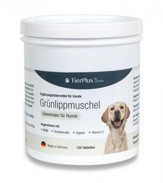 Grünlippmuschel Plus - Gelenktabletten für Hunde