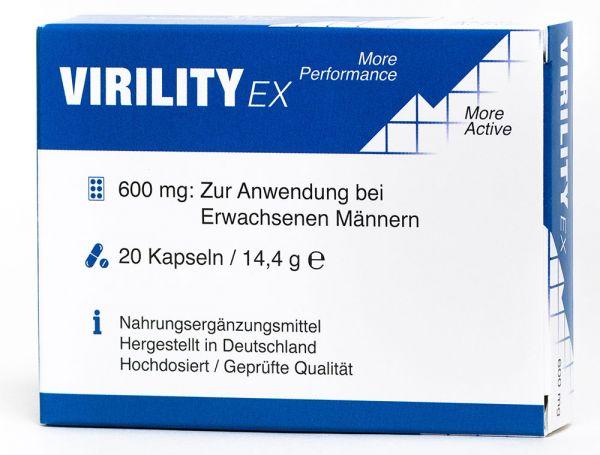 Virility EX © - 600mg aktiv Formel - für den Mann