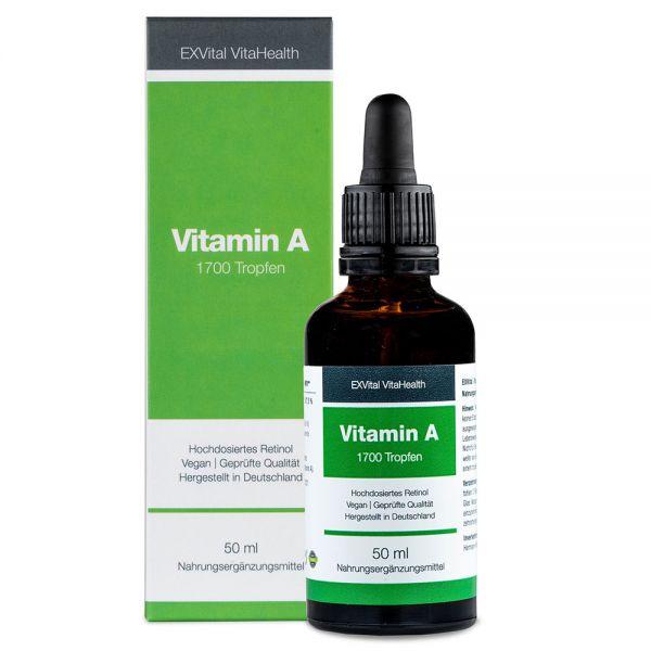 Vitamin A Tropfen (Retinol) von EXVital Vitahealth