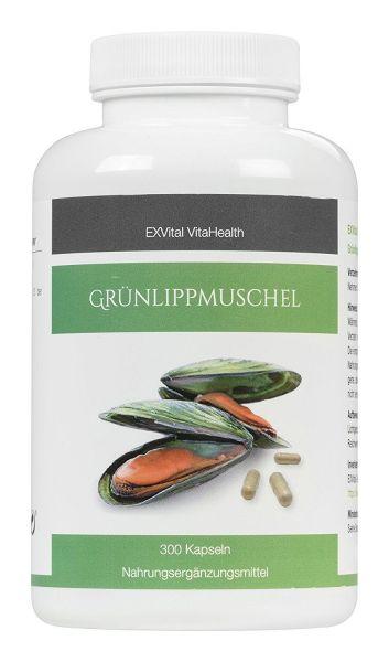 Grünlippmuschel hochdosiert von EXVital VitaHealth, 300 Kapseln