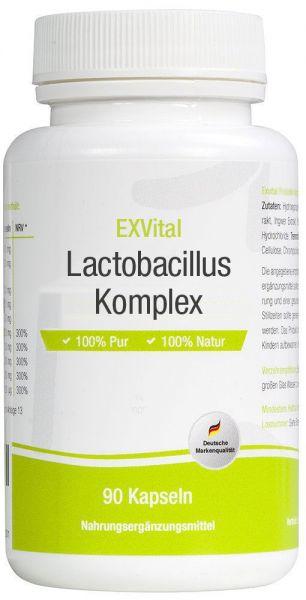 Lactobacillus Komplex, 10 Milliarden KBE von EXVital, 90 Kapseln